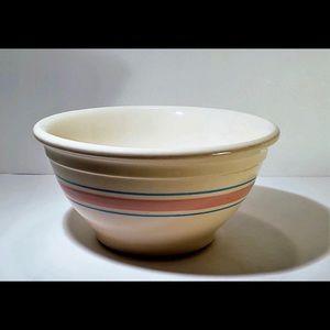 1950's Vintage beautiful McCoy mixing bowl
